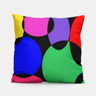 Thumbnail image of Colorful spotlights Pillow, Live Heroes