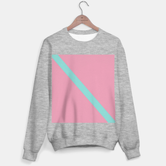 Thumbnail image of Blue stripe on pink Sweater regular, Live Heroes
