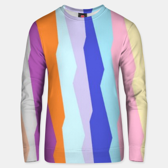 Thumbnail image of Stripy colors Unisex sweater, Live Heroes