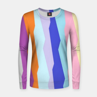 Thumbnail image of Stripy colors Women sweater, Live Heroes