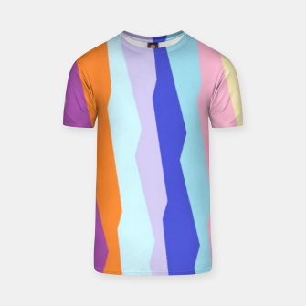Thumbnail image of Stripy colors T-shirt, Live Heroes