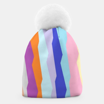 Thumbnail image of Stripy colors Beanie, Live Heroes
