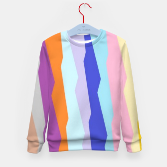 Thumbnail image of Stripy colors Kid's sweater, Live Heroes