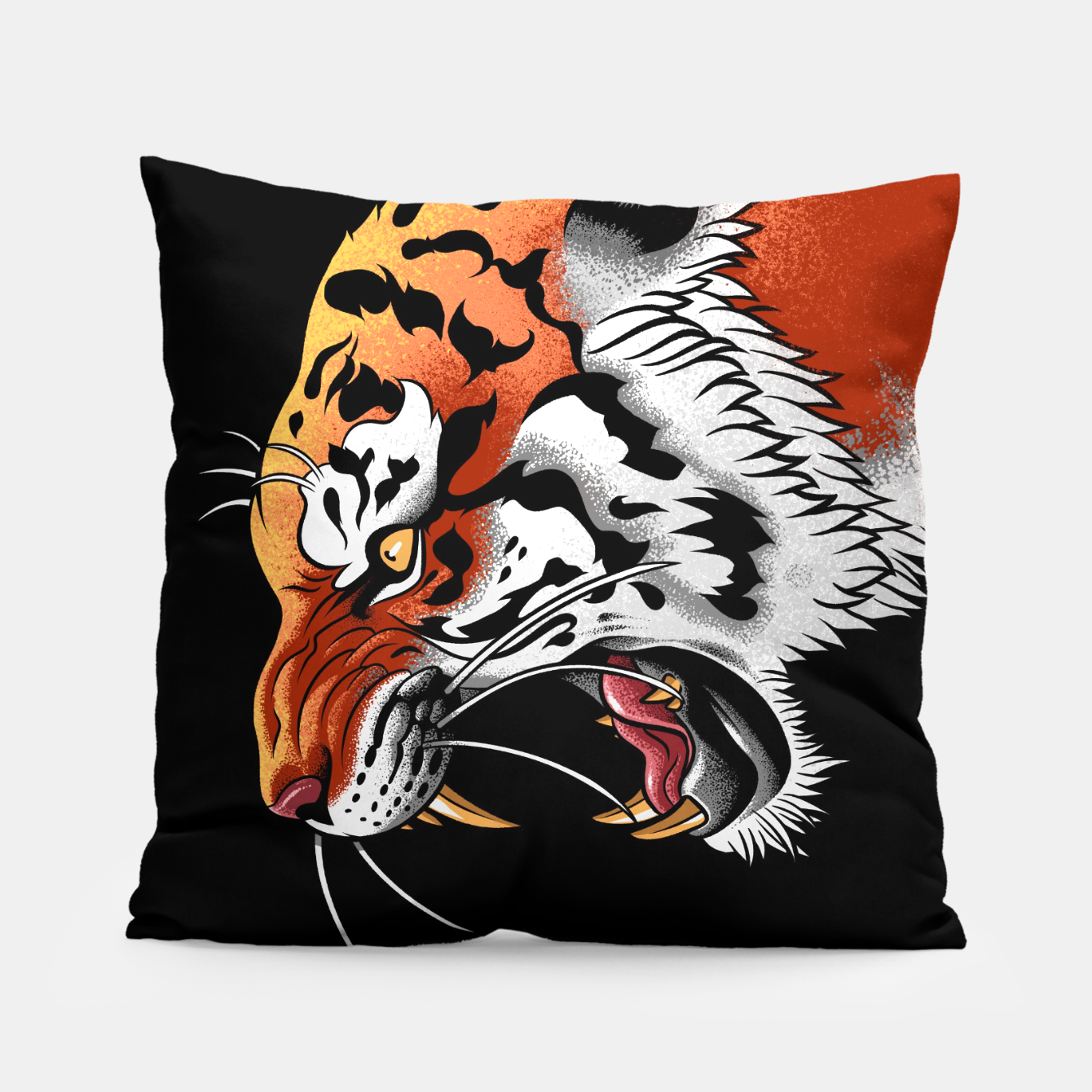 Image of Tiger Tattoo Almohada - Live Heroes