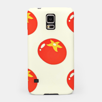 Red tomatoes pattern Samsung Case thumbnail image
