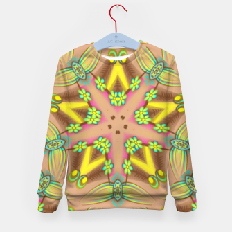 Thumbnail image of Star flower Kid's sweater, Live Heroes