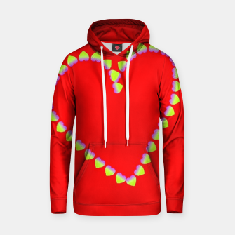 Hearts in heart Hoodie thumbnail image