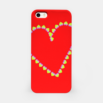 Hearts in heart iPhone Case thumbnail image
