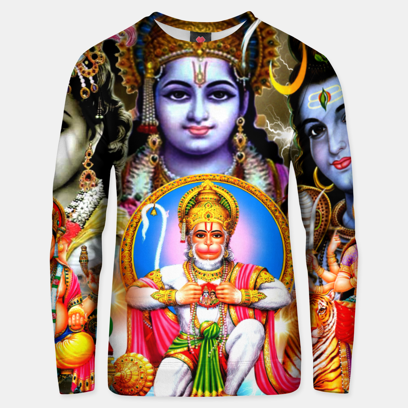 Image of HINDUISM Unisex sweater - Live Heroes