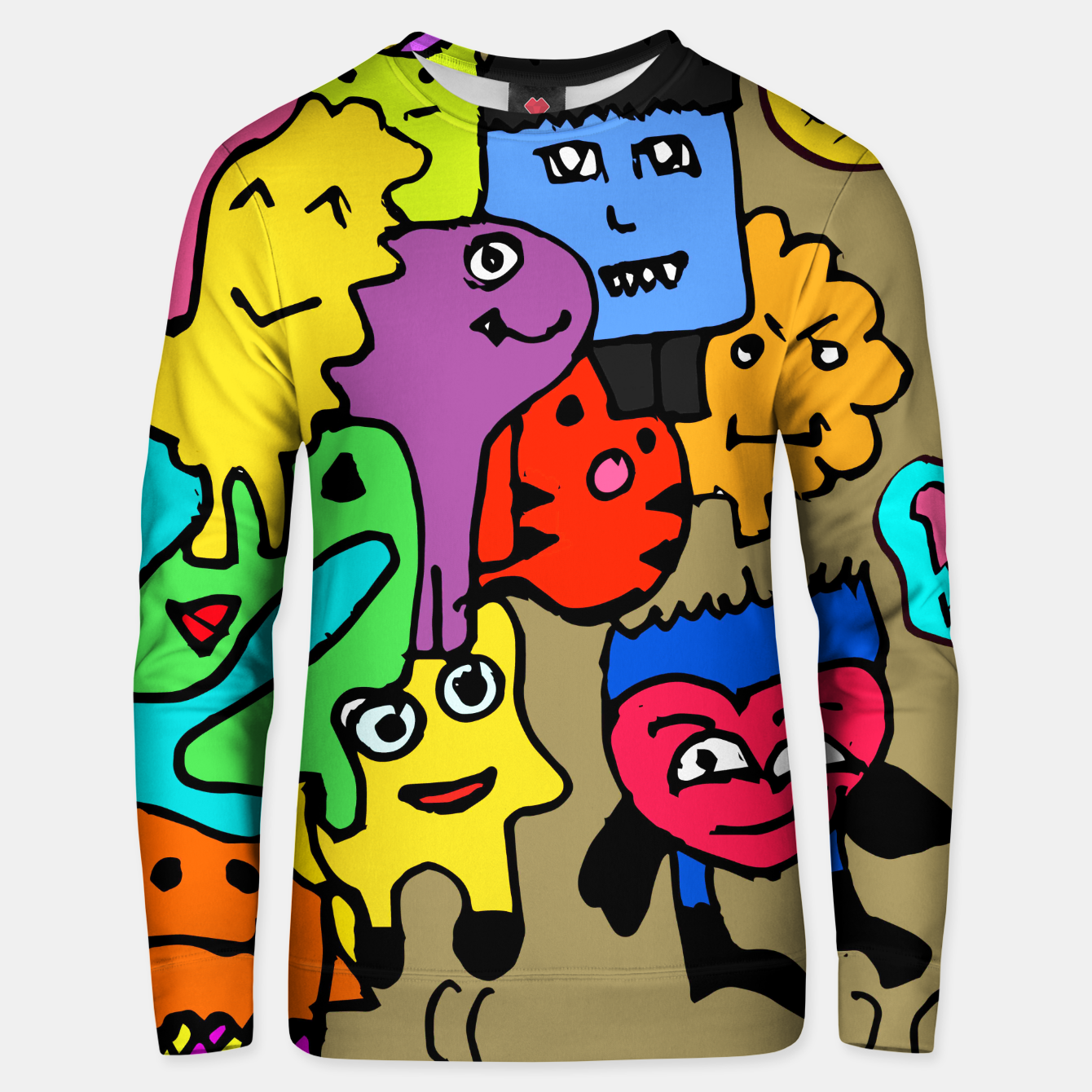 Image of Fine fun moment sweater - Live Heroes