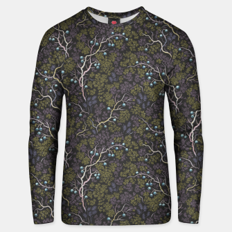 Thumbnail image of Evening in the fragrant juniper grove Unisex sweater, Live Heroes