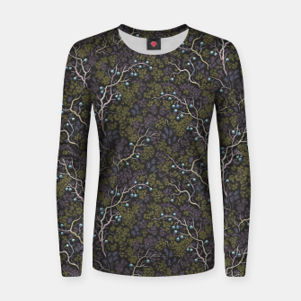 Thumbnail image of Evening in the fragrant juniper grove Women sweater, Live Heroes