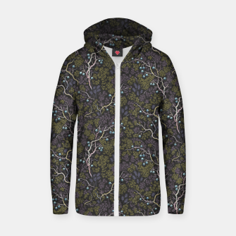 Thumbnail image of Evening in the fragrant juniper grove Zip up hoodie, Live Heroes