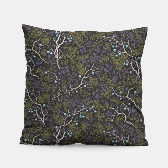 Thumbnail image of Evening in the fragrant juniper grove Pillow, Live Heroes