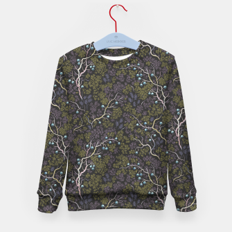 Thumbnail image of Evening in the fragrant juniper grove Kid's sweater, Live Heroes