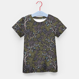 Thumbnail image of Evening in the fragrant juniper grove Kid's t-shirt, Live Heroes