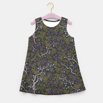 Thumbnail image of Evening in the fragrant juniper grove Girl's summer dress, Live Heroes