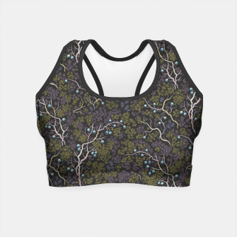 Thumbnail image of Evening in the fragrant juniper grove Crop Top, Live Heroes