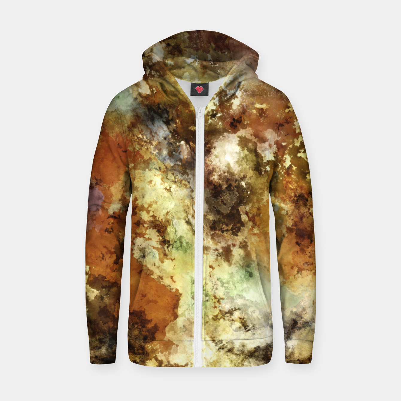 Image of A collection of memories Zip up hoodie - Live Heroes
