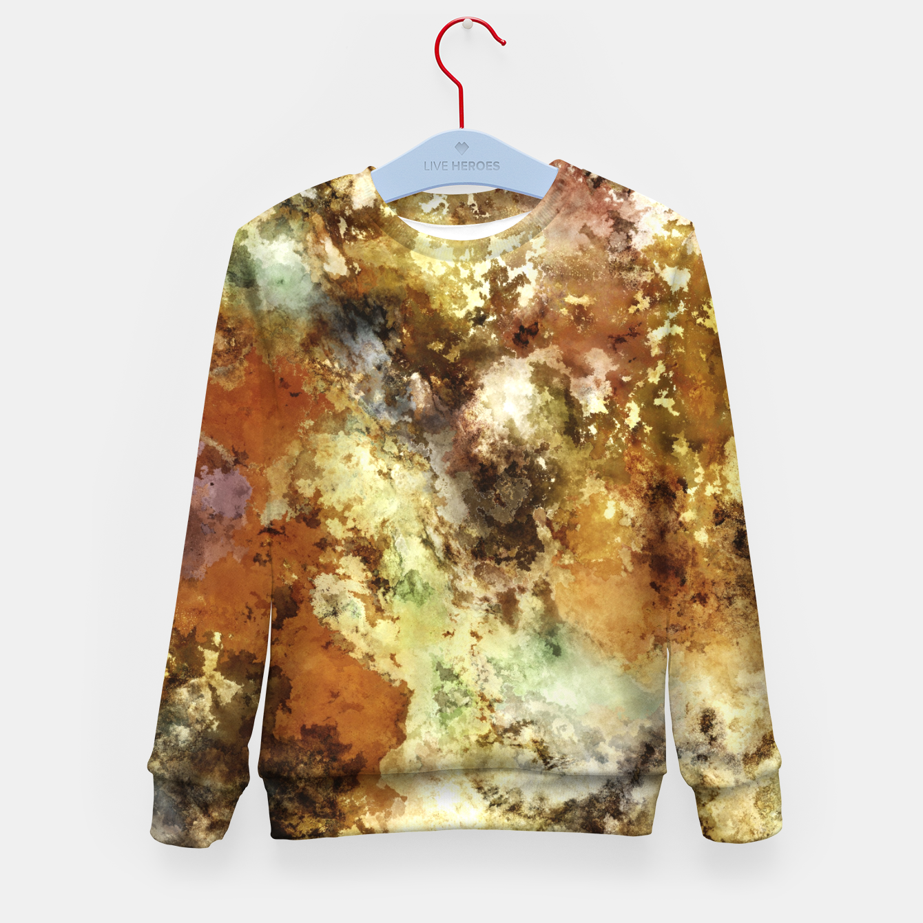 Image of A collection of memories Kid's sweater - Live Heroes