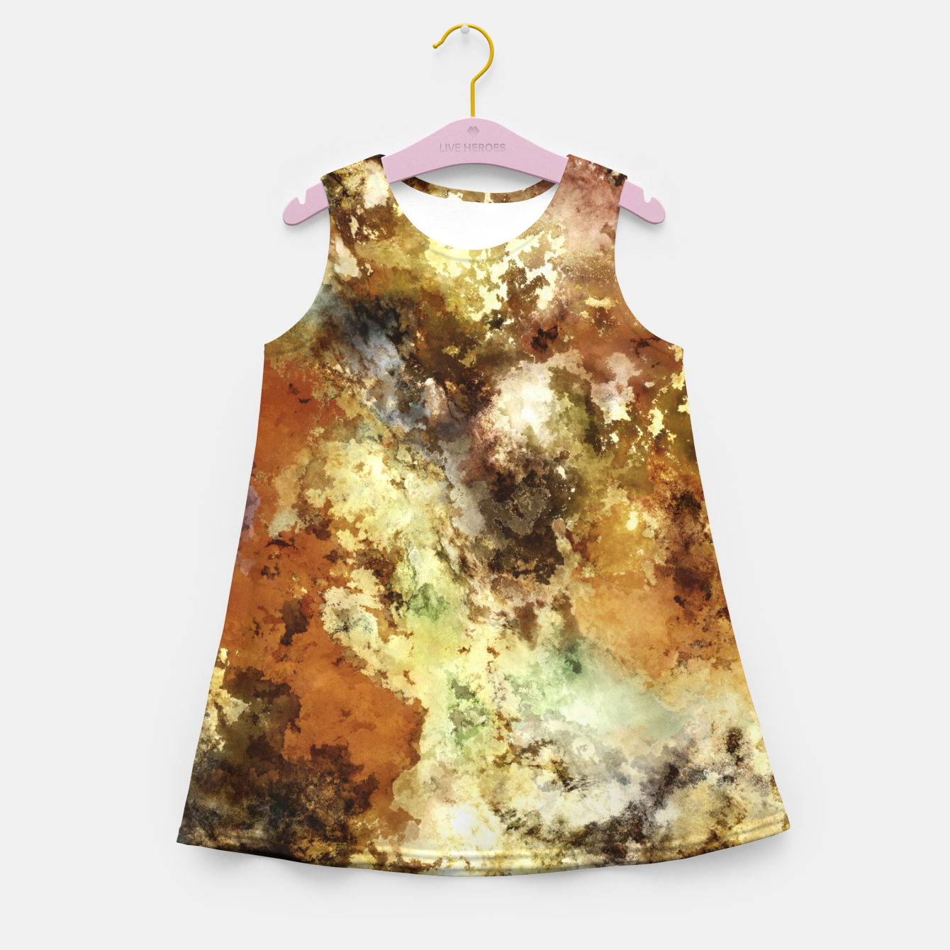 Image of A collection of memories Girl's summer dress - Live Heroes