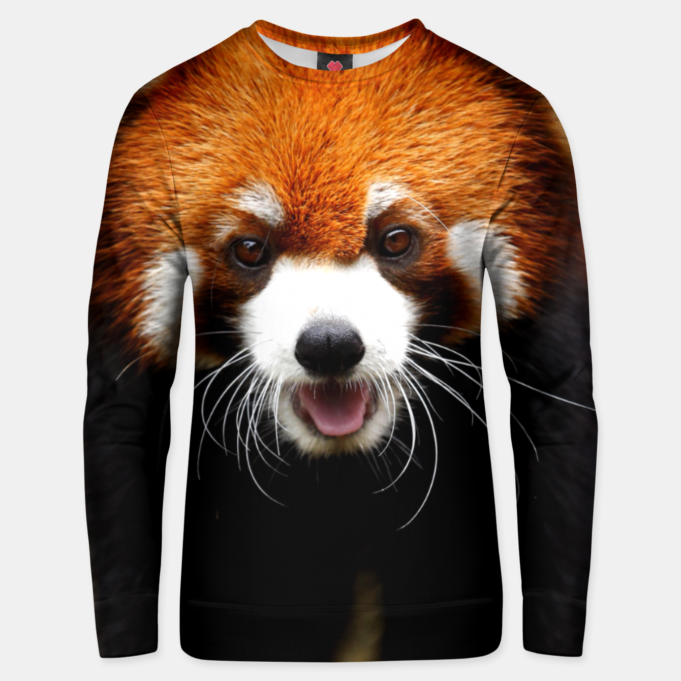 Image of RED PANDA Unisex sweater - Live Heroes