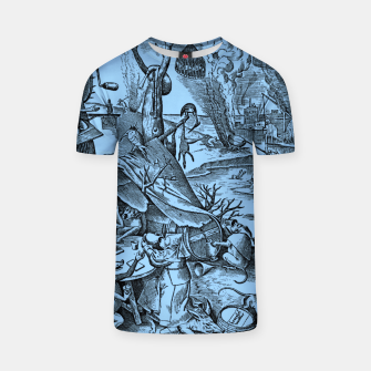 Thumbnail image of Brueghel-The Seven Virtues (Gluttony) T-shirt, Live Heroes