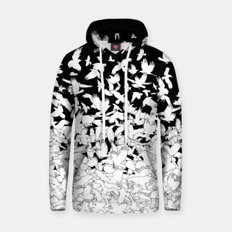 Dove Flying Birds Abstract Love Peace Hope Pattern Hoodie thumbnail image