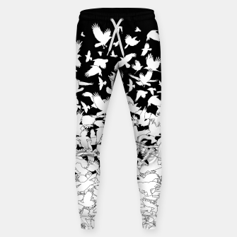 Dove Flying Birds Abstract Love Peace Hope Pattern Sweatpants thumbnail image