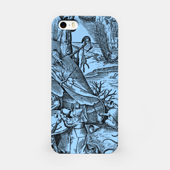 Brueghel-The Seven Virtues (Gluttony) iPhone Case thumbnail image