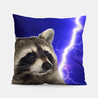 Thumbnail image of RACCOON Pillow, Live Heroes