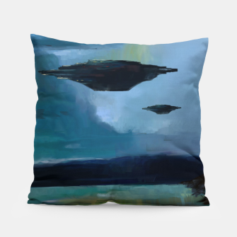 Thumbnail image of Cloudy Skies Pillow, Live Heroes