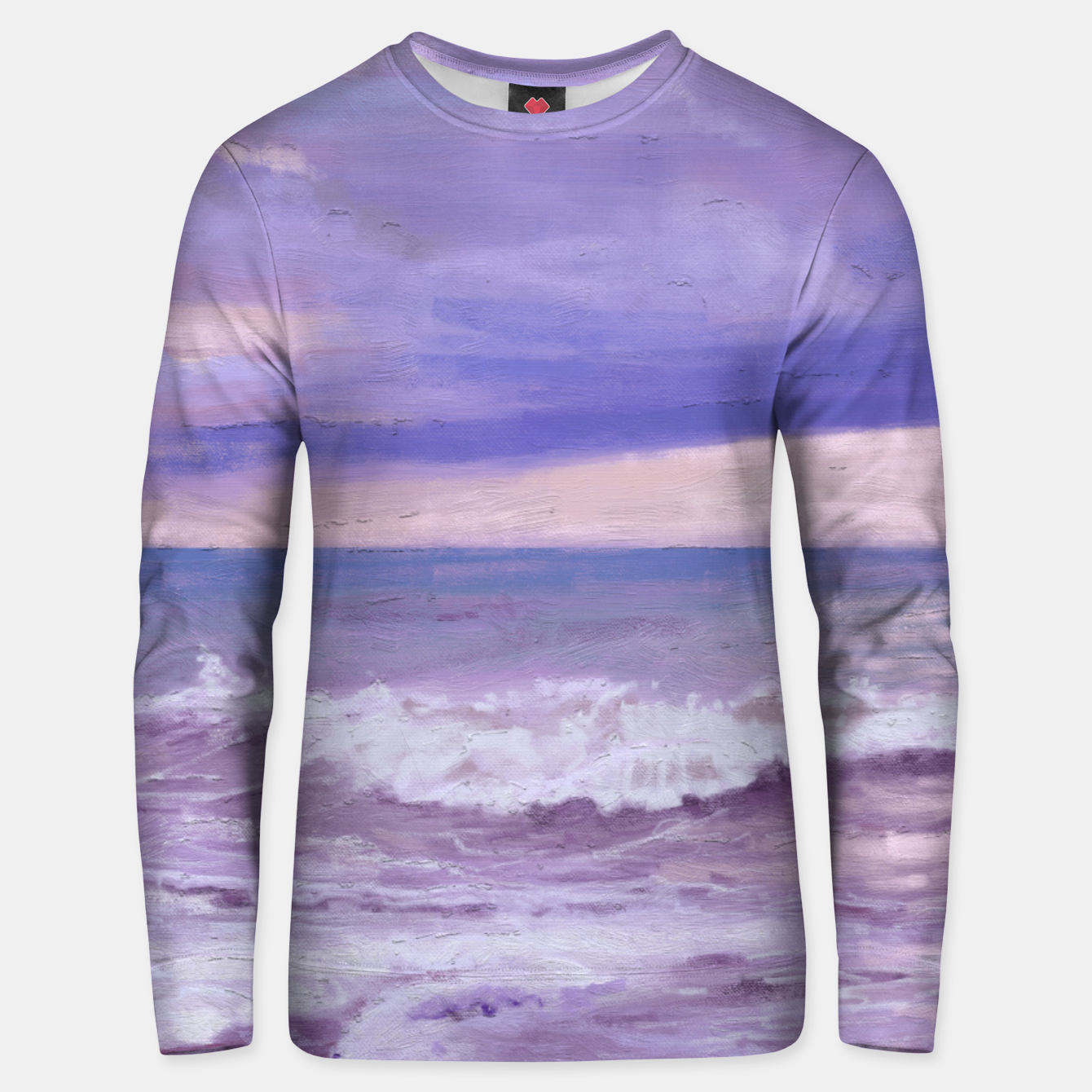 Image of Purple Morning Unisex sweater - Live Heroes