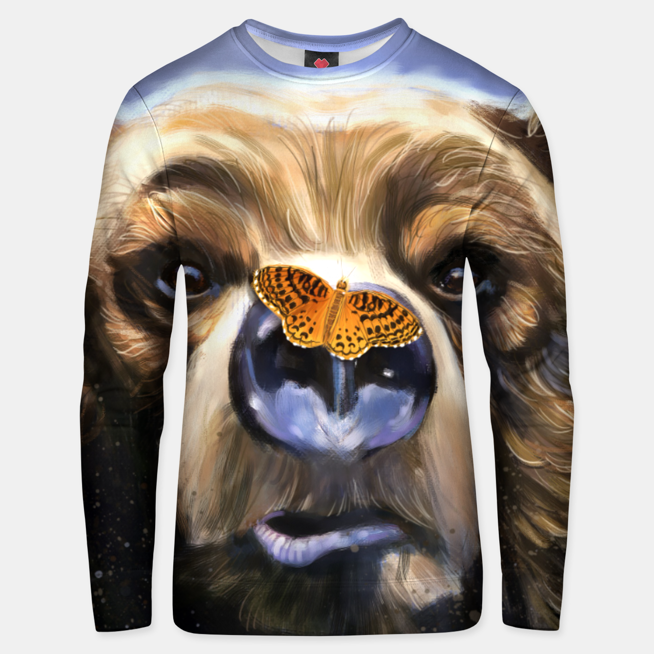 Image of Butterfly Unisex sweater - Live Heroes