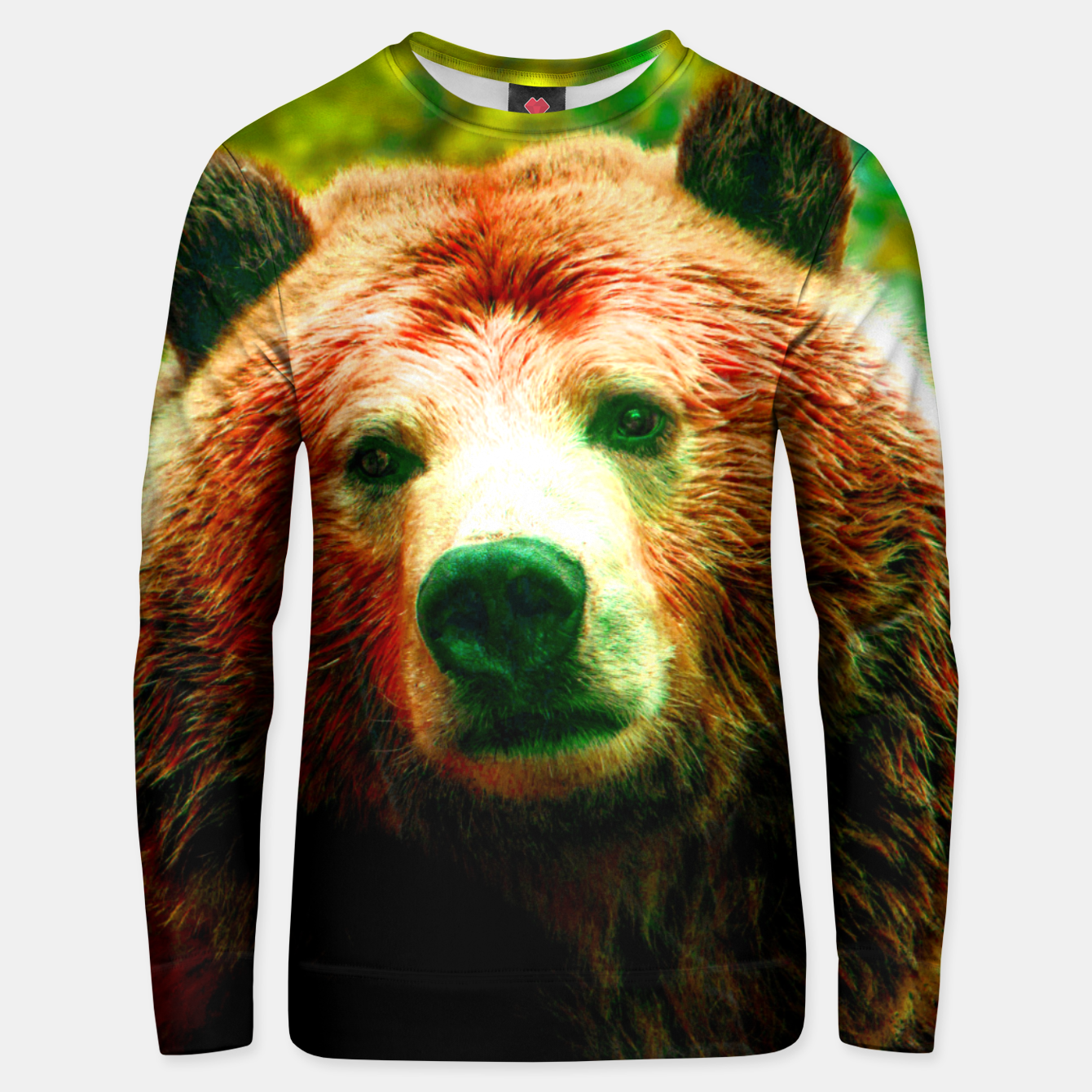 Image of Grizzly Unisex sweater - Live Heroes