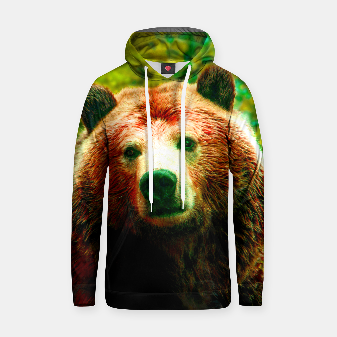 Image of Grizzly Hoodie - Live Heroes