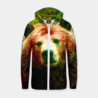 Grizzly Zip up hoodie thumbnail image