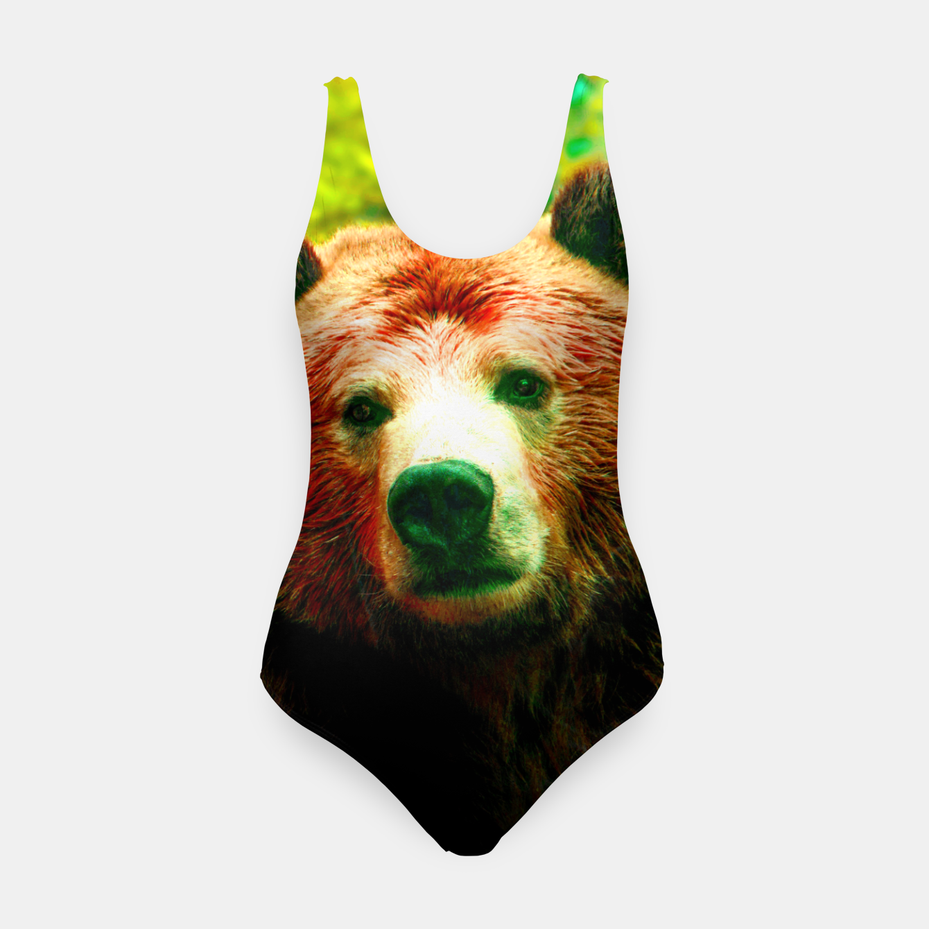 Image of Grizzly Swimsuit - Live Heroes