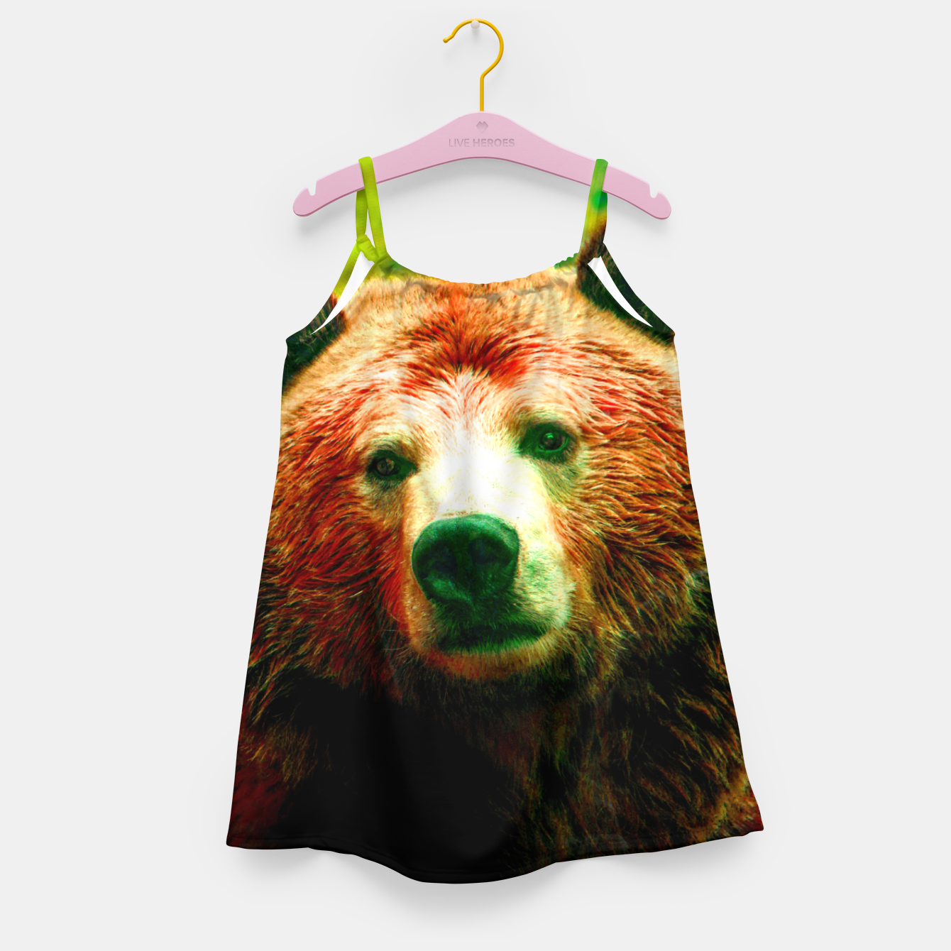 Image of Grizzly Girl's dress - Live Heroes