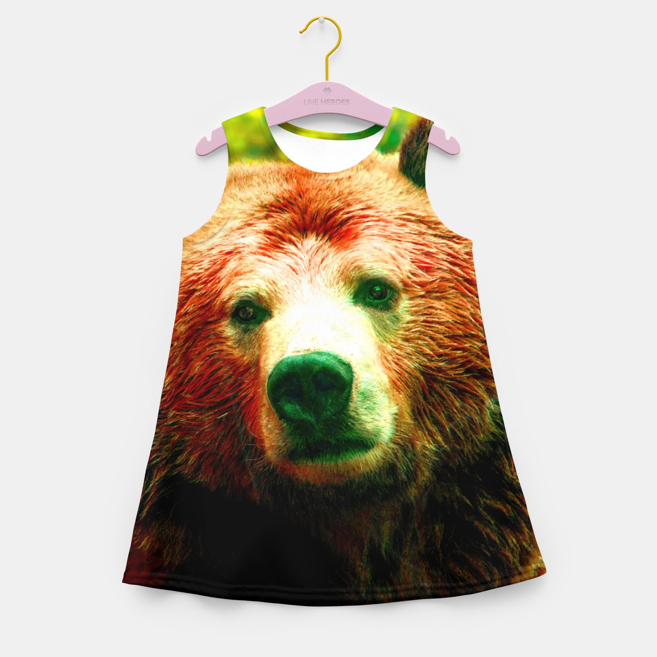 Image of Grizzly Girl's summer dress - Live Heroes