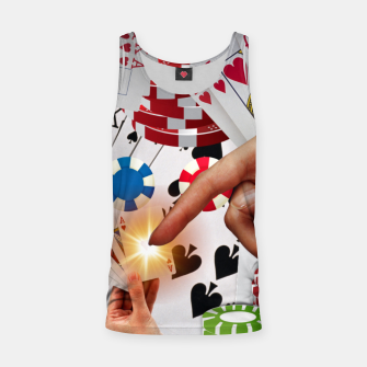 Thumbnail image of POKER NIGHT TOO Tank Top, Live Heroes