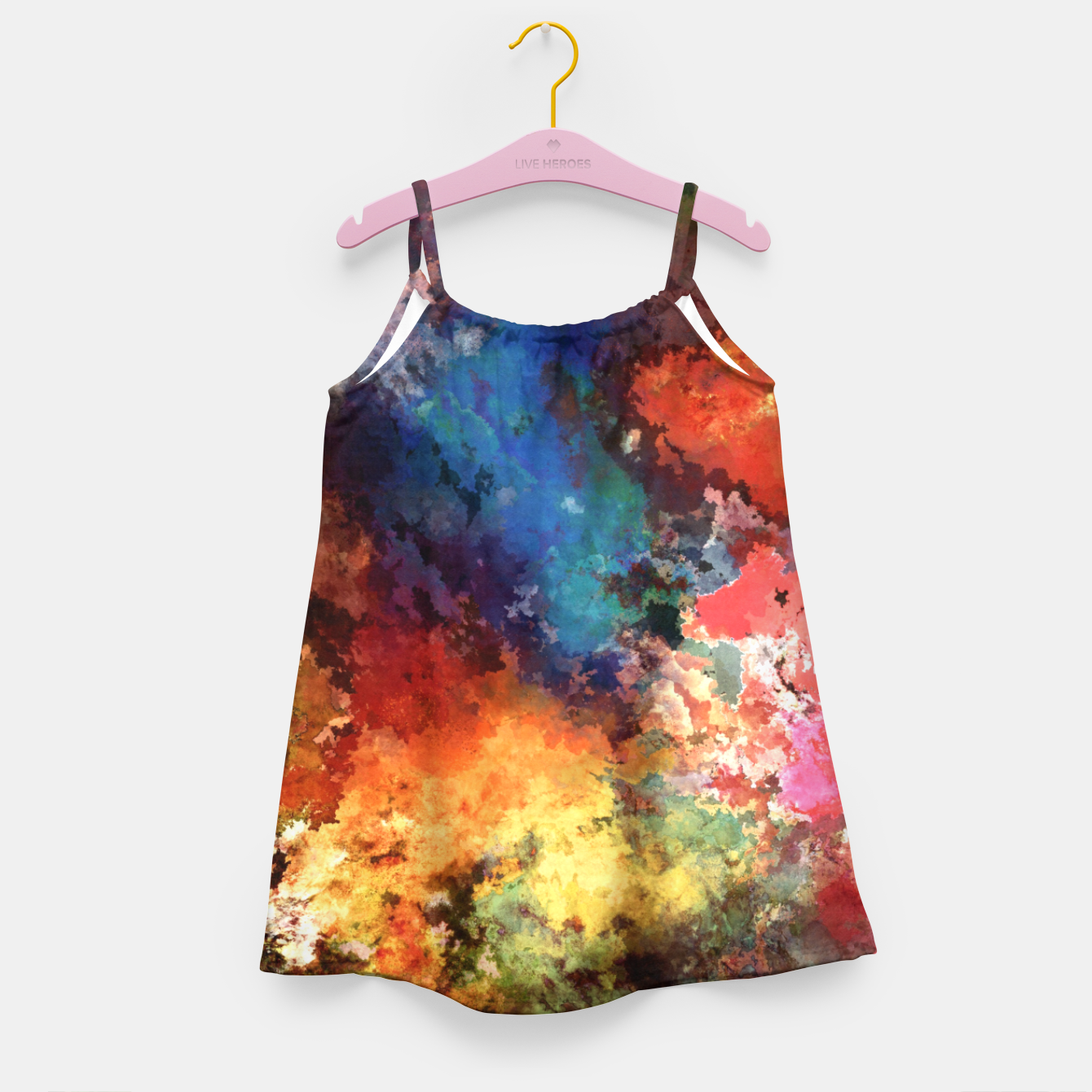 Image of Against the grain Girl's dress - Live Heroes