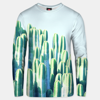 Cactus by the Sea  Unisex sweater thumbnail image