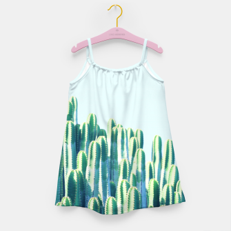Cactus by the Sea  Girl's dress thumbnail image