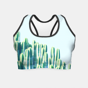 Cactus by the Sea  Crop Top thumbnail image