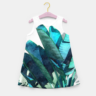 Miniatur Aesthetic Dimensionality Girl's summer dress, Live Heroes