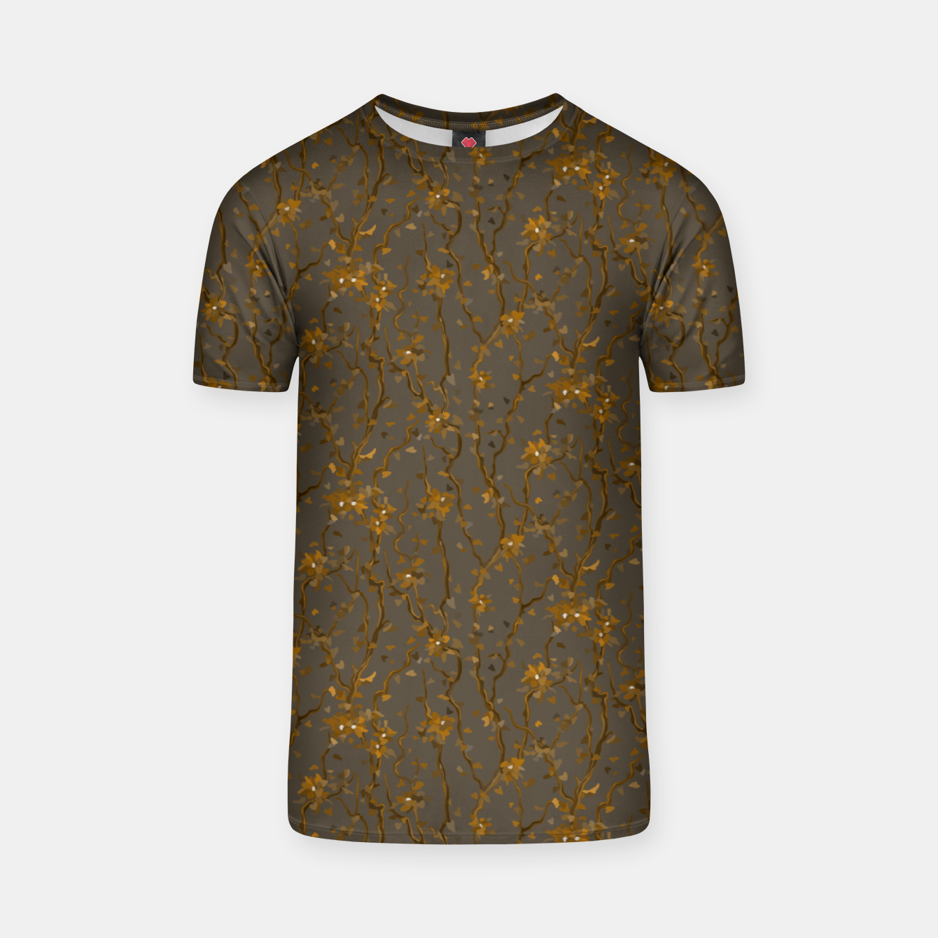 Image of Blossoming veins of the yellow neon world  T-shirt - Live Heroes