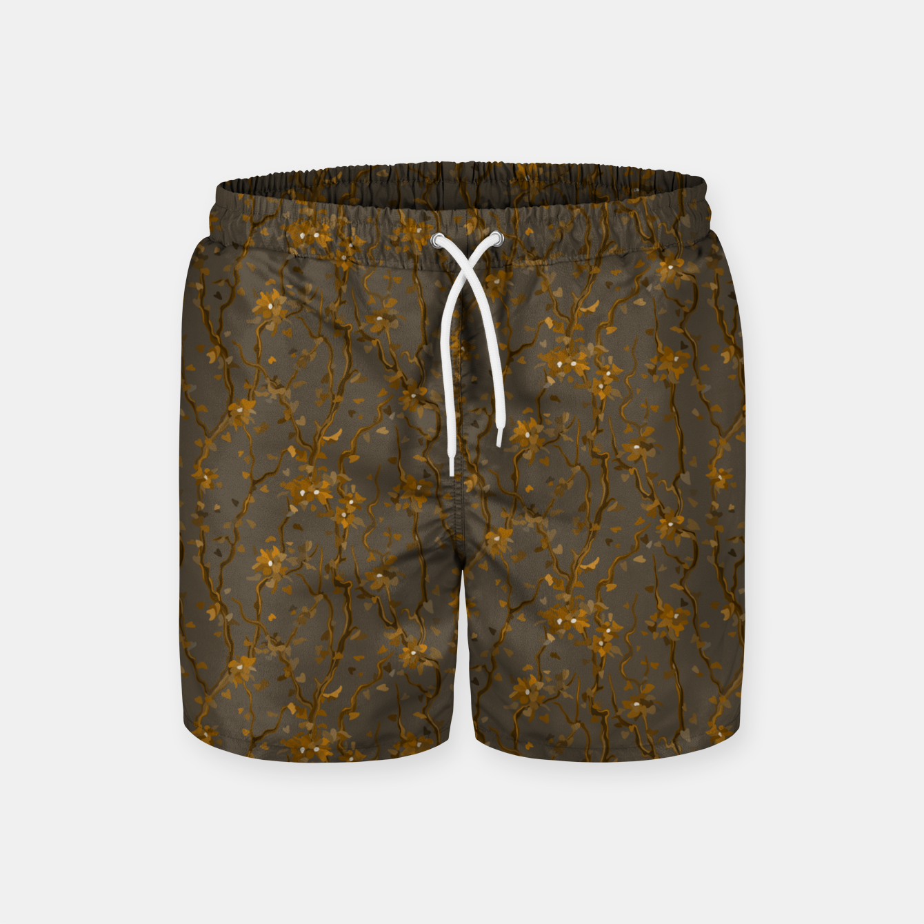 Image of Blossoming veins of the yellow neon world  Swim Shorts - Live Heroes