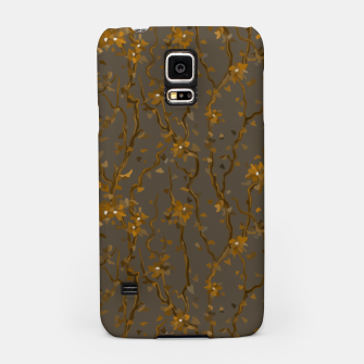 Blossoming veins of the yellow neon world  Samsung Case thumbnail image