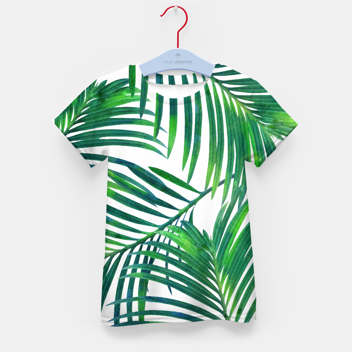 Image of Palm Paradise Kid's t-shirt - Live Heroes